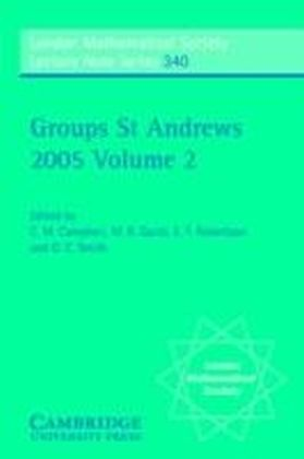 Groups St Andrews 2005: Volume 2
