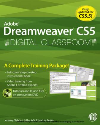 Dreamweaver CS5 Digital Classroom
