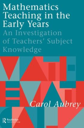 Mathematics Teaching in the Early Years