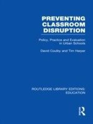 Preventing Classroom Disruption (RLE Edu O)