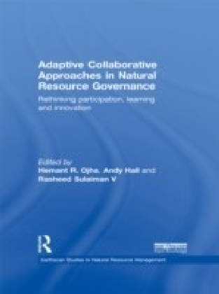 ADAPTIVE COLLABORATIVE APPROACHES IN NATURAL RESOURCE MANAGEMENT