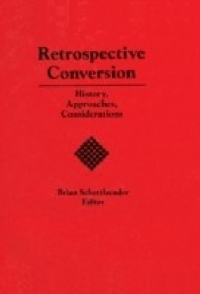 Retrospective Conversion Now in Paperback