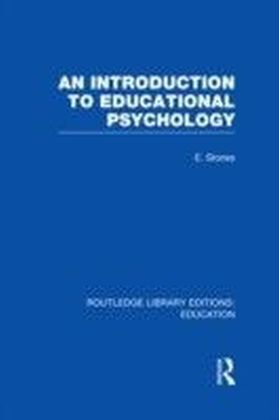 Introduction to Educational Psychology (RLE Edu E)
