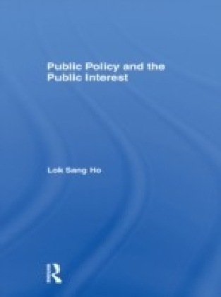 Public Policy and the Public Interest