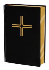 Gotteslob, Diözese Limburg, Lederoptik schwarz mit Goldschnitt