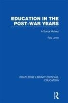 Education in the Post-War Years