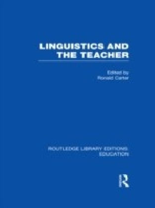 Linguistics and the Teacher