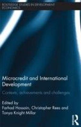 Microcredit and International Development