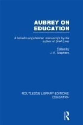 Aubrey on Education