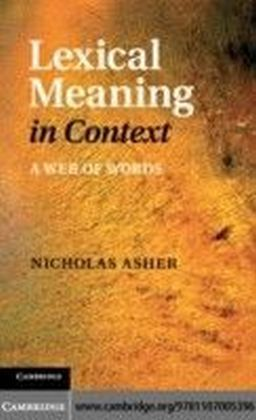 Lexical Meaning in Context