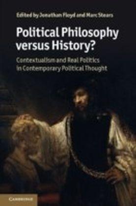 Political Philosophy versus History?
