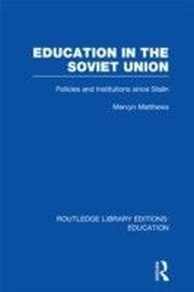 Education in the Soviet Union (RLE Edu A)