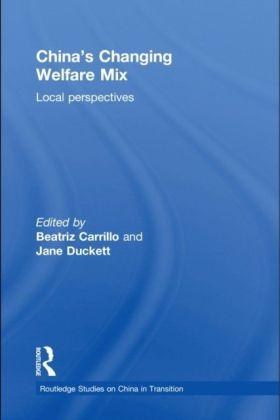 China's Changing Welfare Mix