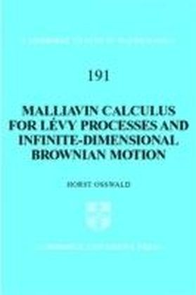 Malliavin Calculus for Levy Processes and Infinite-Dimensional Brownian Motion