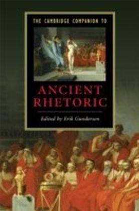 Cambridge Companion to Ancient Rhetoric