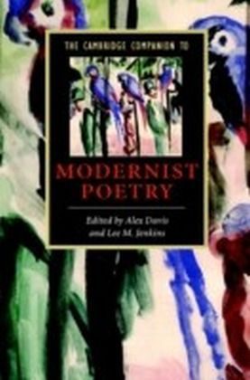 Cambridge Companion to Modernist Poetry