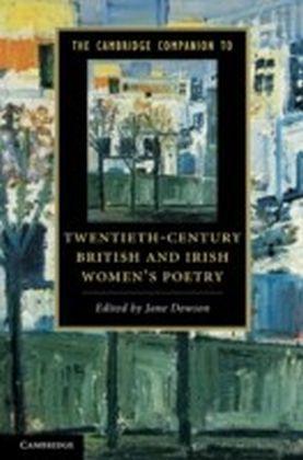 Cambridge Companion to Twentieth-Century British and Irish Women's Poetry