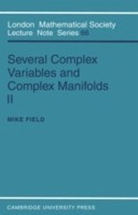 Several Complex Variables and Complex Manifolds II