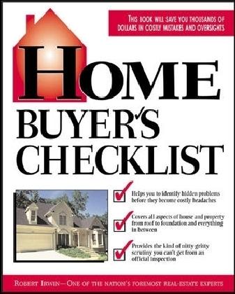 Home Buyer's Checklist
