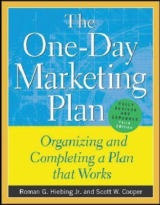 One-Day Marketing Plan