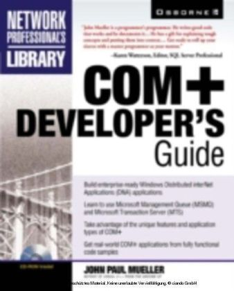 COM+ Developer's Guide