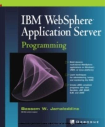 IBM(R) WebSphere(R) Application Server Programming