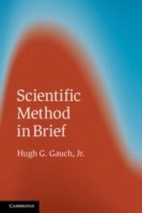 Scientific Method in Brief