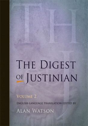 Digest of Justinian, Volume 2