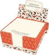 Zettelkästchen - Einfach schöne Worte Cover