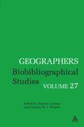 Geographers Volume 27