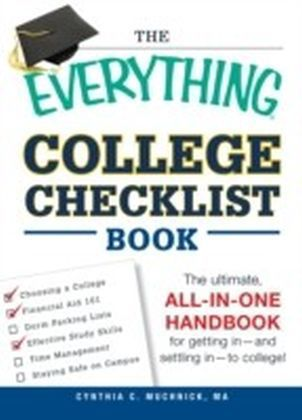 Everything College Checklist Book