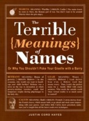 Terrible Meanings of Names