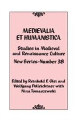 Medievalia et Humanistica, No. 38