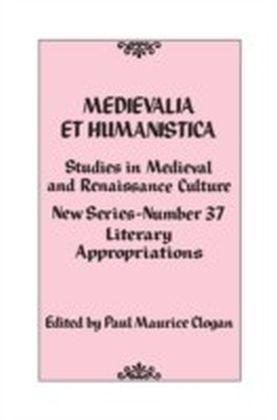 Medievalia et Humanistica, No. 37