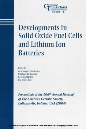 Developments in Solid Oxide Fuel Cells and Lithium Iron Batteries