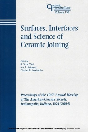 Surfaces, Interfaces and Science of Ceramic Joining