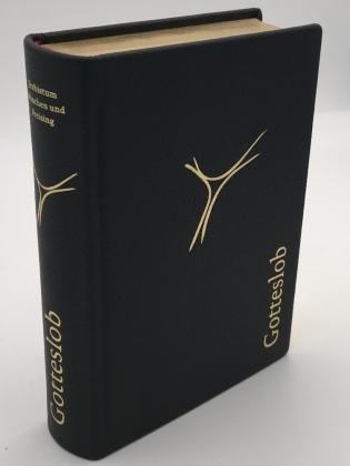 Gotteslob - Ausgabe für das Erzbistum München und Freising, Großdruckausgabe, Lederimitat schwarz
