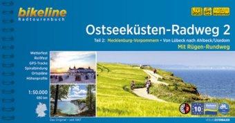 Bikeline Radtourenbuch Ostseeküsten-Radweg