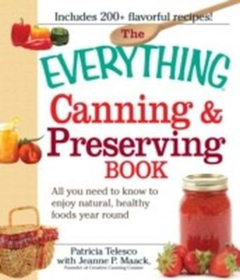 Everything Canning and Preserving Book