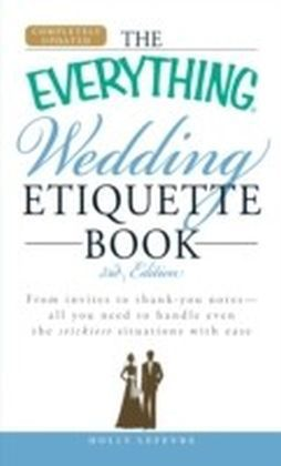 Everything Wedding Etiquette Book