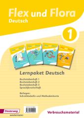 Lernpaket Deutsch 1 (Verbrauchsmaterial), 4 Hefte Cover