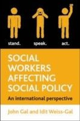 Social workers affecting social policy
