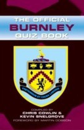 Official Burnley Quiz Book