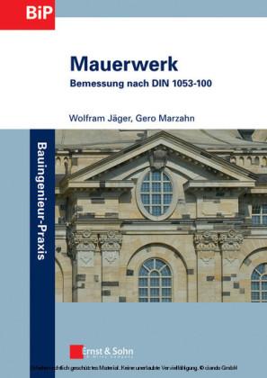 Mauerwerk - Bemessung nach DIN 1053-100