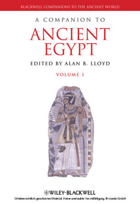 A Companion to Ancient Egypt