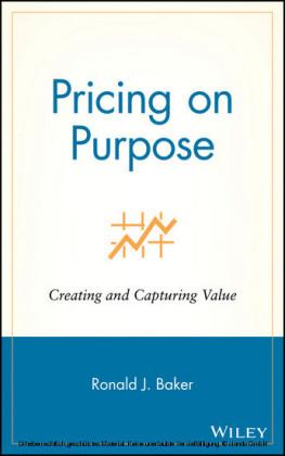 Pricing on Purpose