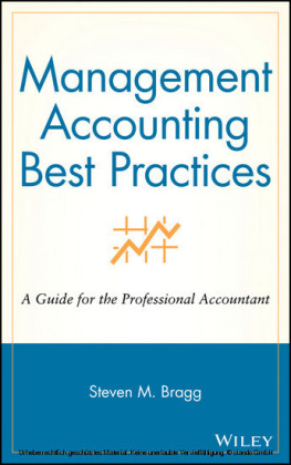Management Accounting Best Practices,