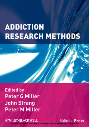 Addiction Research Methods