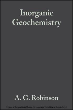 Inorganic Geochemistry