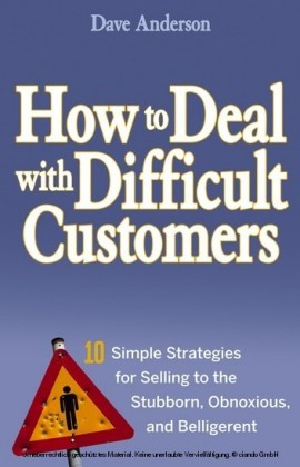 How to Deal with Difficult Customers,